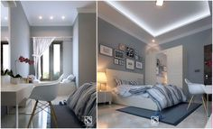 #Arsitek #DesainInterior #KamarTidur #Architect #InteriorDesign #Bedroom #Architecchi