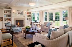 Merveilleux Comfortable Living Area, Living Rooms, Living Spaces, Cape Cod Style House,  Modern