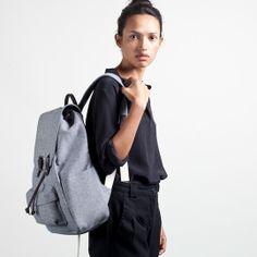 The Reverse-Denim Snap Backpack – Everlane