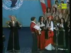 Gilda Ragazza del sud (Galà Unicef dopo finale sanremo 1975).