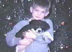 Jeffrey and his dog Frisky.