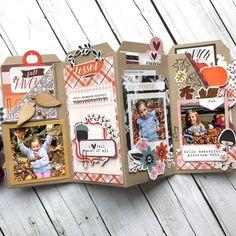 Design Team Monday with Virginia Nebel! 2019 Design Team Monday with Virginia Nebel! Mini Album Scrapbook, Mini Albums Scrap, Scrapbook Journal, Scrapbook Supplies, Scrapbook Cards, Friend Scrapbook, Scrapbook Titles, Birthday Scrapbook, Scrapbook Paper Crafts