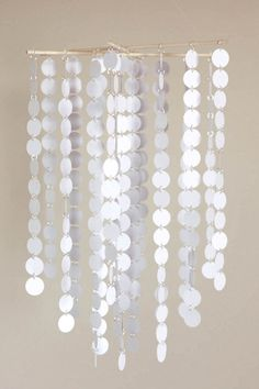 MOBILE KIT   White Circles Chandelier/Mobile by LilSproutCreations, $40.00