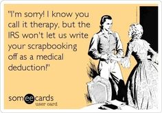 """What is your favorite """"therapy"""" craft?"""