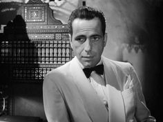 Humphrey Bogart in Black Tie | Menswear | Pinterest