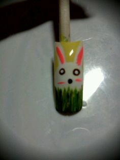 Easter nail art for school check out www.MyNailPolishObsession.com for more nail art ideas. Easter Nail Art, Tiffany, Art Ideas, School, Check