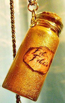 DIY Felix Felicis Necklace - For Harry Potter Fans ;)