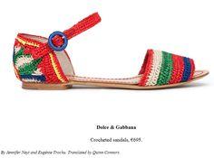 Sandália  Perfeito em Crochê -  /  Sandal  Perfect  with Crochet Hooks  -