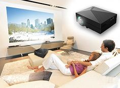Xinda XD601 Full HD Multimedia LED 1000 Lumens LCD Portable Projector - For All Offices Products Item Catalog (II)