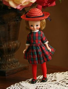 Betsy McCall Doll-This the outfit I still have.