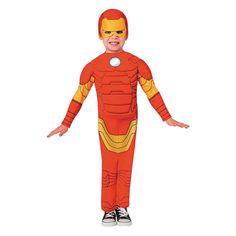 Boys Iron Man Halloween Costume for Toddler