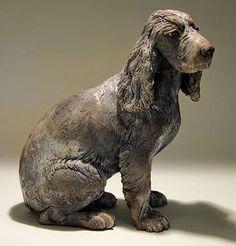 Clay Dog Sculptures | CERÂMICA NOSSA DE CADA DIA. | Pinterest