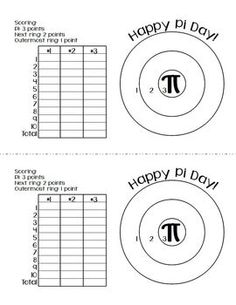 PI DAY FREEBIE: GRAPHING AND A GAME - TeachersPayTeachers.com