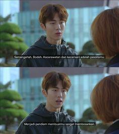 Submarine Quotes, Best Vsco Filters, Korean Drama Quotes, Korean Language Learning, Weightlifting Fairy Kim Bok Joo, Bare Bears, Drama Korea, Qoute, Stupid Memes