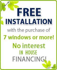 VINYL-LITE WINDOW FACTORY AND SHOWROOM  l  FREE INSTALLATION