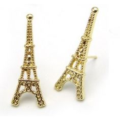Eiffer tower earrings