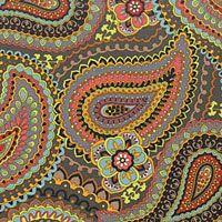 Large Paisley Road Well Traveled New Fabric from ShopFonsandPorter.com