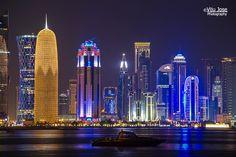 Qatar | Doha Corniche. credit: Viju Jose. view on Fb https://www.facebook.com/SinbadsQatarPocketGuide #qatar #traveltoqatar
