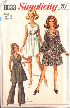 Simplicity 8033 | Simplicity 8033 - Vintage Sewing Patterns