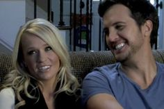 Luke and Caroline chatted with us about their love story, who picks the movies they see and their future plans.