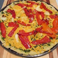 GF and EASY PizzyVega's gluten-free, sugar-free, vegan pizza dough recipe: