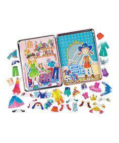 Look at this #zulilyfind! Daisy Girl Magnet Set by T.S. Shure #zulilyfinds
