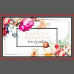 A elegant vintage chic floral striped beauty salon business card design. Customize this elegant vintage chic floral striped beauty salon business card and give it your individual style. A professional modern customizable Business Card. Perfect for many professions looking for that visual creative edge over their competitors to stand out from the crowd! Ideal for Beauty Salon, Hair Salon, Stylist, Florist, Lawyers, Beautician, and Creative Professionals. Easy to customize with your own text…