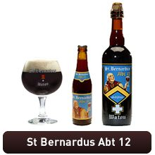 "St Bernardus Abt 12. Supposedly close to Westlevetreren 12 (""The Best Beer In The World""). They used to brew their beer 25 years ago (Men's Journal) and supposedly have the recipe."