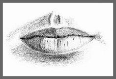 Drawing the Mouth - Step 2