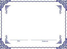 custom certificate template