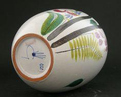 STIG Lindberg Gustavsberg Outstanding Faience Vase with Stunning Glaze Stig Lindberg, Glaze, Ebay, Design, Enamel, Design Comics, Display Window
