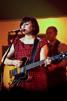 Tracyanne Campbell of Camera Obscura