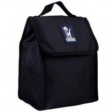 Kids Lunch Box & Bags: Rip-Stop Black Munch 'n Lunch Bag