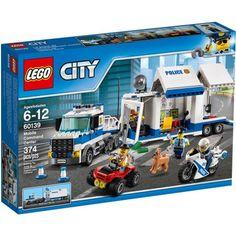 Lego City Police Mobile Command Center 60139, Multicolor