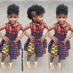 Creative Ankara Gown Design for Children - http://www.dezangozone.com/2015/12/creative-ankara-gown-design-for-children.html DeZango Fashion Zone