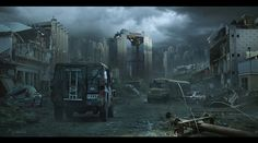 Post-Apocalyptic People | Sci Fi Post Apocalyptic Wallpaper/Background 1440 x 800 - Id: 316478 ...