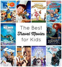 The Best Travel Movies for Kids that Parents Will Love Too! From TravelMamas.com.