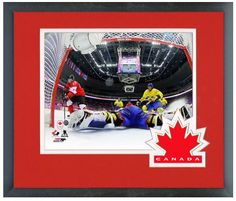 Sidney Crosby 2014 Team Canada Winter Olympics - 11 x 14 Matted/Framed Photo