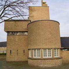 Bauhaus, Amsterdam School, Brickwork, Bricks, Netherlands, Mansions, Deco, House Styles, Building