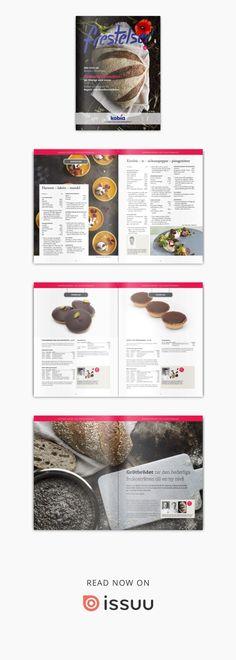 Kobia frestelser 2017 nr 4. 5 september - 5 november.  Ett inspirerande magasin från Kobia - leverantör för bagare och konditorer.