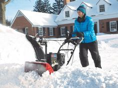 Discover tips for using a snowblower >> http://www.diynetwork.com/made-and-remade/learn-it/12-things-to-Know-before-you-start-your-snowblower?soc=pinterest