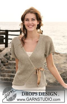 Knitting Patterns Outlander Ravelry: Fab Wrap pattern by DROPS design Cardigan Au Crochet, Crochet Jacket, Knit Jacket, Knit Crochet, Drops Design, Knitting Patterns Free, Knit Patterns, Free Knitting, Wrap Pattern