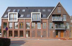Appartementengebouw De Florijn Zegveld NL | Arc2 architecten Innovative Architecture, Architecture Office, Apartments, Mansions, Landscape, House Styles, Design, Home Decor, Mansion Houses