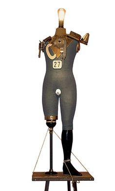 George Grosz /John Heartfield  the Conformist Turned Wild Electro-mechanical Tatlin Sculpture, 1920 -