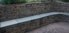 retaining wall seating | ... - Dry Stone Walling - Garden Design and Landscaping - Edinburgh seat