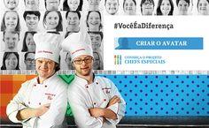 #VocêÉaDiferença aplicativo criado para jovens especiais - http://superchefs.com.br/app-chefs-especiais/ - #App, #ChefsEspeciais, #Gastronomia, #Noticias, #SíndromeDeDown, #VocêÉaDiferença