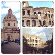 Pizza, pasta, the Coliseum, the Trevi Fountain, the St. Peter's ... sunny atmosphere of Italy!
