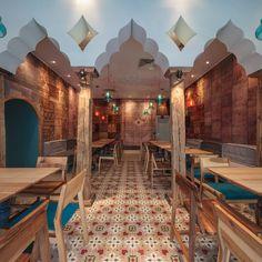 Restaurant Divan Designist 9 Noua scenografie Divan, semnată Corvin Cristian, te transportă în vibrantul Istanbul