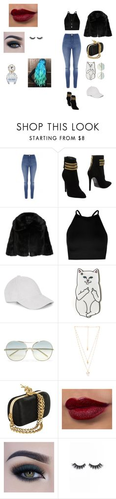 """""""christmas eve at home"""" by rmorrill on Polyvore featuring Jane Norman, Pierre Balmain, Nili Lotan, Boohoo, Le Amonie, RIPNDIP, Chloé, Natalie B, Too Faced Cosmetics and Violet Voss"""