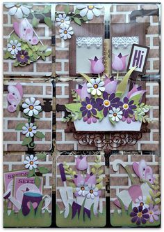 Nanne's Creations: Spring themed pocket letter